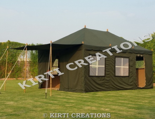 Decadent  Swiss Cottage Tent