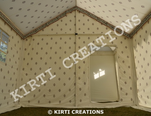 Distinctive Swiss Cottage Tent